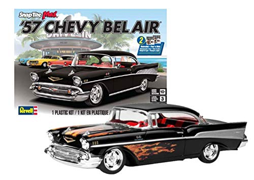 Revell-1957 Chevy Bel Air, SnapTite Max, Escala 1:25 Kit di Modelli in plastica, Multicolore, 85-1529
