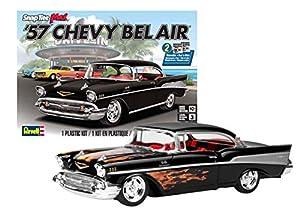 Kit de Modelos de plástico, 1957 Chevy Bel Air, escala 1:25