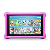 Fire HD 10 Kids Edition-Tablet, 25,65 cm (10,1 Zoll) 1080p Full HD-Display, 32 GB, pinke kindgerechte Hülle