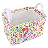 HomeStorie™ Foldable Storage Basket Bins Organizer, Pack of 2