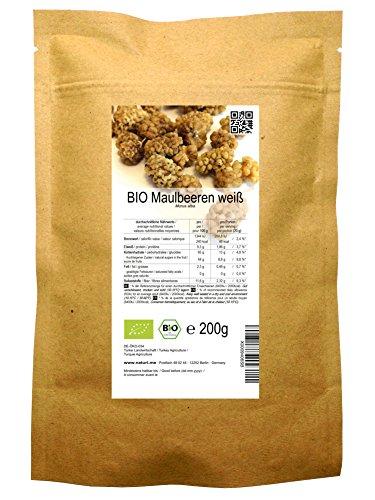 BIO Maulbeeren weiß 200 g -