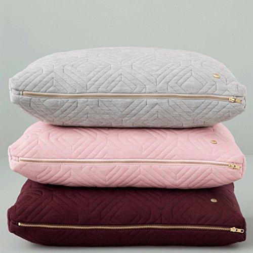 Ferm Living – Quilt Cushion – Kissen – Bordeaux – 60 x 40 - 5