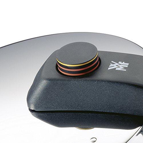 WMF Perfect - Olla Rápida, Acero Inoxidable, Diámetro 22 cm, Capacidad 6.5 l Acero Inoxidable Pulido, fabricada en Alemania, Fabricada en Cromargan, Certificación de seguridad GS, Diseñada por Metz&Kindler