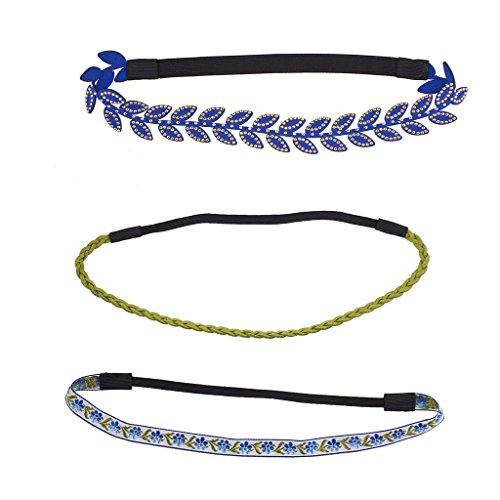lux-accesorios-azul-y-verde-lazer-cut-juego-de-trenza-de-ante-panuelo-para-la-cabeza-impreso-3pc