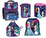 Disney Frozen Eiskönigin Schulranzen Tornister Schulrucksack Schultasche Set 5 Teilig Inkl. Sticker Von Kids4shop