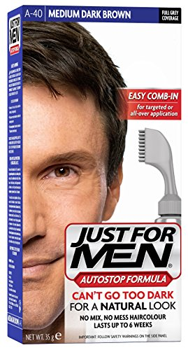 Just For Men Autostop Hair Color Medium-Dark Brown A40