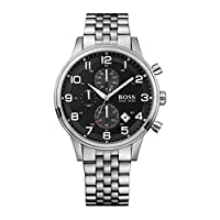 Hugo Boss 1512446 - Reloj analógico de caballero de cuarzo con correa plateada de Hugo Boss