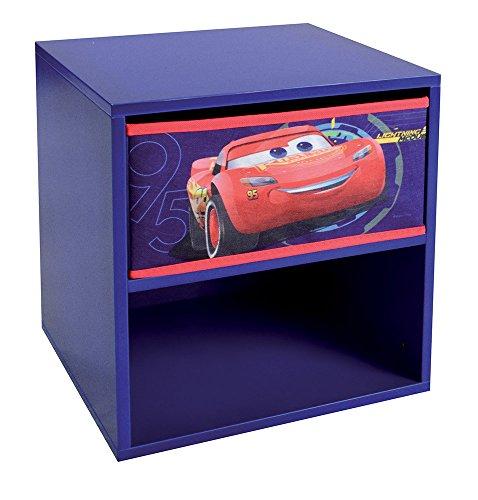 Unbekannt Fun House 712762Cars Nachttisch mit Schublade für Kinder (Nachttisch Schlafzimmer-kollektion)