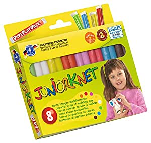 FEUCHTMANN La pâte à modeler junior Basic, multicolore