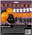BOLAND 14 teiliges Halloween Set, 4 Girlanden + 10 Luftballons