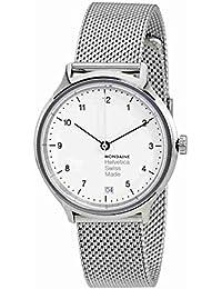 Mondaine Damen-Armbanduhr Helvetica No1 Regular 33mm Analog Quarz MH1.R1210.SM
