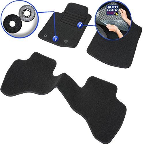 Set complet de tapis en moquette sur mesure noir Citroen C8/Tapis noirs pour voiture