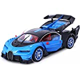 Toyshine Bugatti Remote Control Car, Rechargeable, Opening Doors, Assorted Color