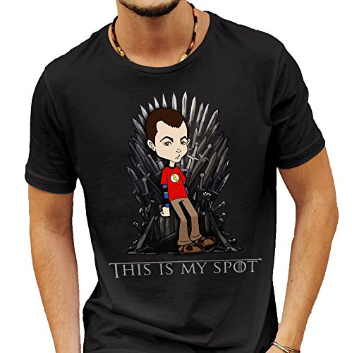 Game Of Thrones / Big Bang Theory Parody This Is My Spot T-shirt Large, Mugs-Tasses-fan-serie