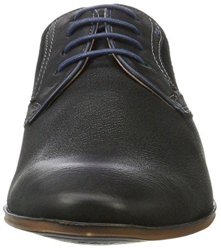 Bugatti 311101133030, Derby Homme Noir (Black/ Black)