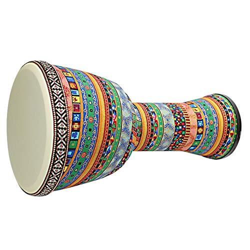 Mimagogo Professional African Djembe Drum Bongo Wooden Good Sound Musical Instrument