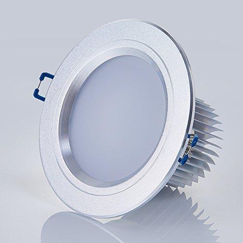 Foco empotrable LED lámpara empotrada de 4 pulgadas 12W para sala de...