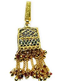 Indian Ethnic Designer Fashion High Quality Stone, Gold Plated Belly Kamar Guccha For Women And Girl - B07CM2THK6