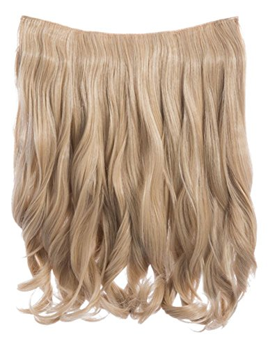 CELEBRITY CLIP IN ONE PIECE G0003 14 LONG CURLY HAIR EXTENSION WEFT HAIRPIECE by Koko (One Piece Diva)