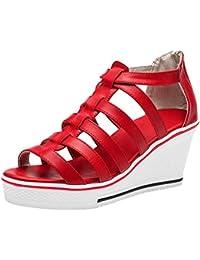 420b54ec9dfc Amazon.fr   chaussures compensees   Chaussures et Sacs