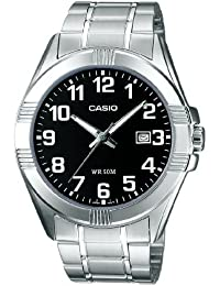 Casio Collection - Herren-Armbanduhr mit Analog-Display und Edelstahlarmband - MTP-1308PD-1BVEF