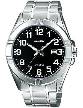 Casio Collection - Herren-Armbanduhr mit Analog-Display und Edelstahlarmband - MTP-1308PD-1BVEF