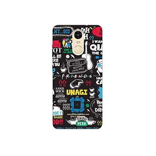 Doodle Xiaomi Redmi Note4 Mobile Case by The Souled Store