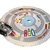 Kleitung Aufräumsack & Spieldecke in einem Kinder Aufräumsack Spieldecke Spielzeug