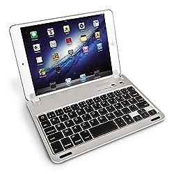 Conçu spécifiquement pour une compatibilité avec tous les modèles d'iPad Mini, ce clavier Bluetooth de Caseflex vous permet de le connecter et coupler à votre appareil pour une saisie efficace et facile. Avec un support a clipser magnétique, ce clavi...