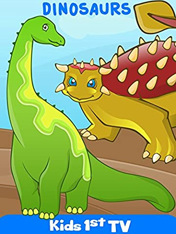 Dinosaurs - Dinosaurs Names and Sounds - Fun Dinosaurs Puzzles Video For Kids