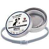 LLDHWX Verstellbarer Anti Floh Hundehalsband Katzenhalsband Haustierkragen hautfreundliche Formel Floh-Zeckenentfernung für Hunde Katze