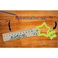Personalised Teacher Bookmark Ruler - Great School Leaving Gift!