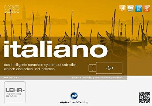 usb sprachtrainer italiano: das intelligente Sprachlernsystem auf usb-stick.einfach einstecken und...
