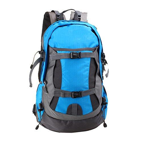 Borsa Nuova Spalla Yy.f50L Ultra-leggero Borse Da Viaggio Borse Alpinismo Impermeabili Esterno Spalle Sport Zaino. Multicolore,Black-32*22*53cm Blue