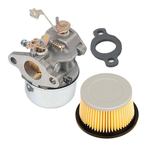 Ouyfilters faciles à Carburateur Carb kit pour Tecumseh 631067 631067 une 632076 631828 H50 H60 Hh60 avec filtre à air 30727 30604 John Deer Am30900 Cub Cadet 488619 488619-r1 Lesco 050113
