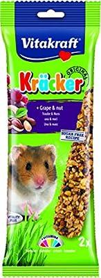 Vitakraft Hamster Kracker Treat Sticks 2pk with Grapes and Nuts by Vitakraft Burton Dene Ltd