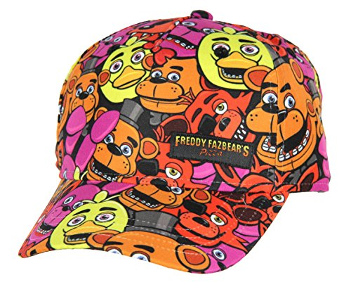 Five Nights at Freddy's Youth Freddy All-Over Print Snapback Hat