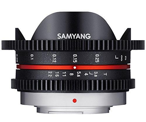 Samyang 8M T3.8 Cine UMC FISH-EYE Objektiv