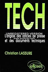Tech: L'anglais des articles de presse et des documents techniques