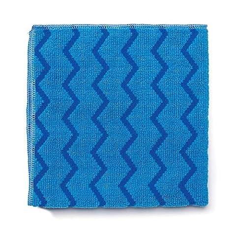 Rubbermaid r050651–001HYGEN Chiffon en microfibre, bleu
