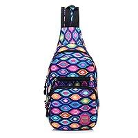 JTENGYAO Messenger Bag Chest Shoulder Backpack Travel Outdoor Sports Bag