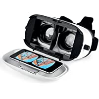 Intempo EE1553STK Engage VR 3D Virtual Reality Glasses Headset for Movies, Games, Apps - White - ukpricecomparsion.eu