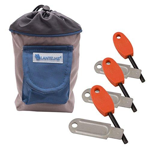 lantelme-5904-outdoor-gurteltasche-und-feuersteine-set