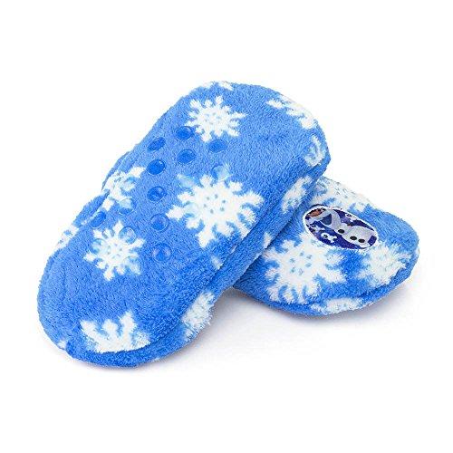 Die Eiskönigin Frozen Pantoffel Hausschuhe Puschen Gr. 25/26 27/28 29/30 31/32 Olaf hellblau