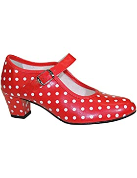 Calzados Romero Sevilla's. Zapato Sevillana Sintético con Hebilla Para Niña - Modelo 17