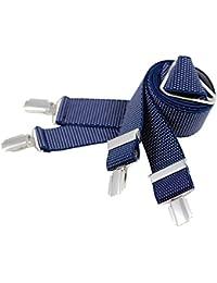 Bretelles Ajustable Homme LINDENMANN, XXL, Stretch, marineblau, 7545-006