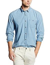 Cortefiel Indigo Topos, Camisa para Hombre
