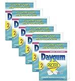 Daygum Protex Gomme da Masticare Senza Zucchero, Chewing Gum Gusto Menta, Formato Scorta da 12 Astucci (6 Confezioni da 2)