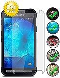 Smartphone-Equipment [2er Pack] Panzerglas für Samsung Galaxy Xcover 3 Echt-Hartglas 9H, Glasfolie Schutzfolie Glas Folie Panzerfolie Display Schutz