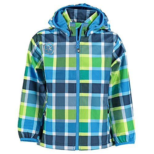 Color Kids. Kinder Soft-Shell Jacke Timbay, 102724-110, Scuba Blue